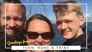 Ivan, Rune and Trine - Sitting Under A Palm Tree