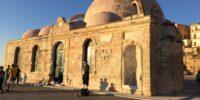 Kreta - Grækenland - Sidder Under En Palme
